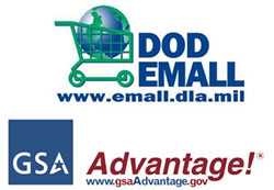GSA Advantage and  DOD Emall